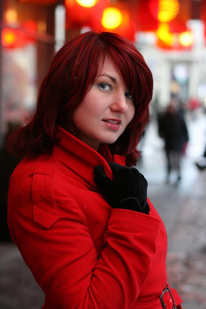 Alina in winter