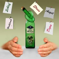 Alkohol ist kein Anker
