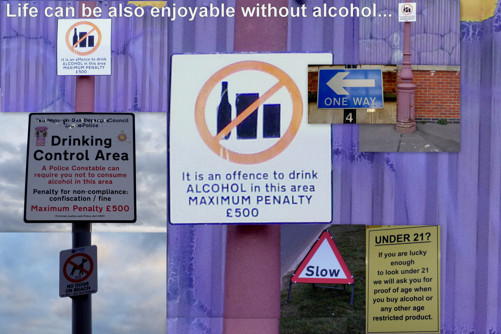 Alkoholverbot -  Prohibition