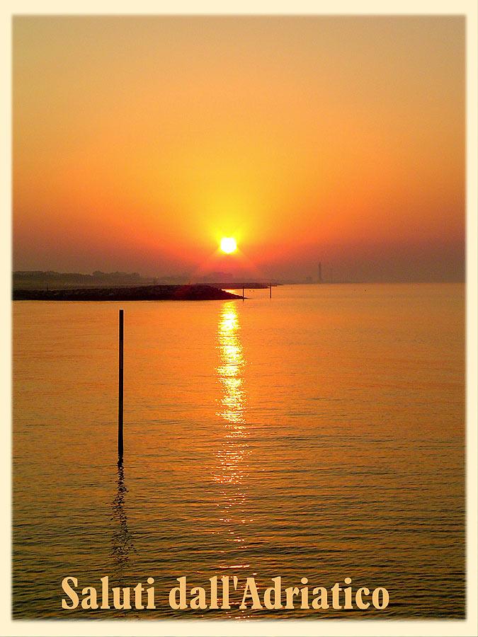All ' alba sul mare