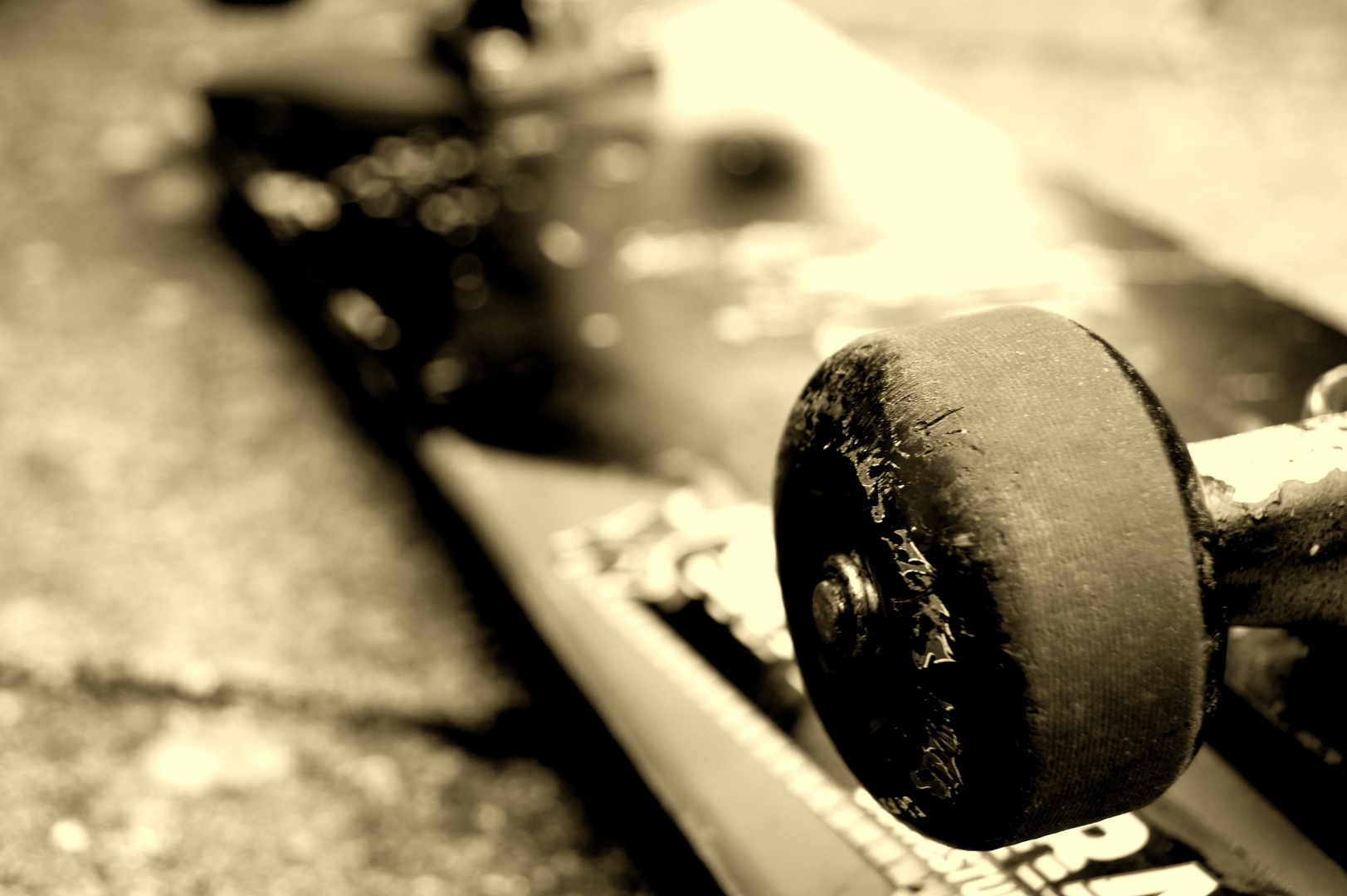 All day I dream about skateboarding! (Adidas)