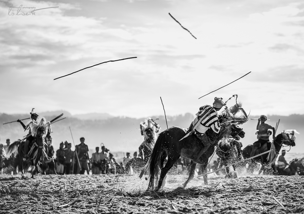 All on one, one on all ~ Pasola, Sumba Barat, Indonesia