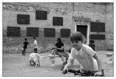 alla Piazza nel ghetto nuovo - auf der Piazza im neuen Ghetto