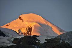Allalinhorn mit Morgensonne