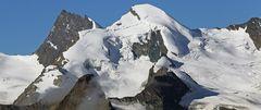 Allalinhorn von HohSaas aus 3150m Höhe aufgenommen...