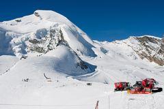 Allalinhorn - Vorgeschmackt Winter