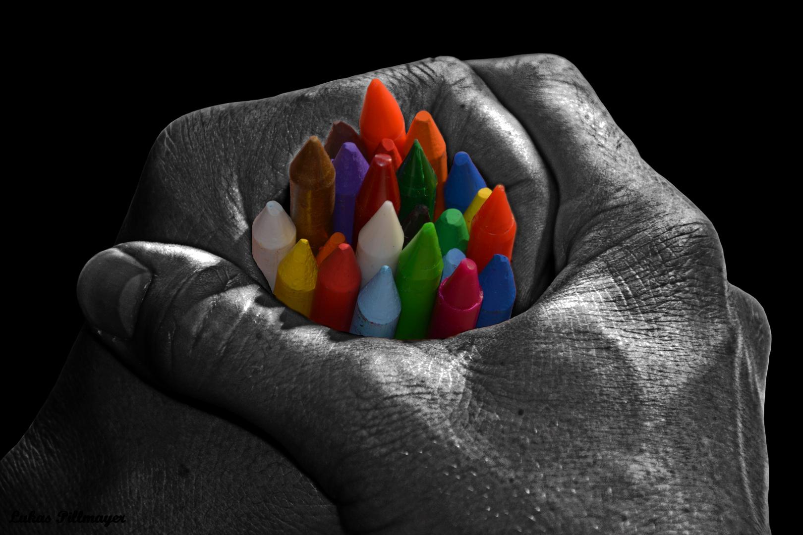 Alle Farben im Griff