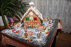 Alle Jahre wieder - ein Pfefferkuchenhaus