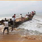 ALLE MANN an BORD ... in SRI Lanka