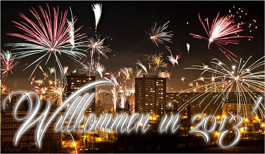 Alle mitgekommen? Ein frohes neues Jahr, meine Lieben! ;-) Foto ...