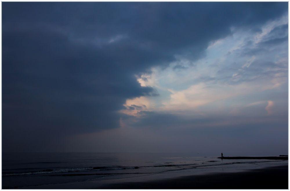 Allein am Meer...