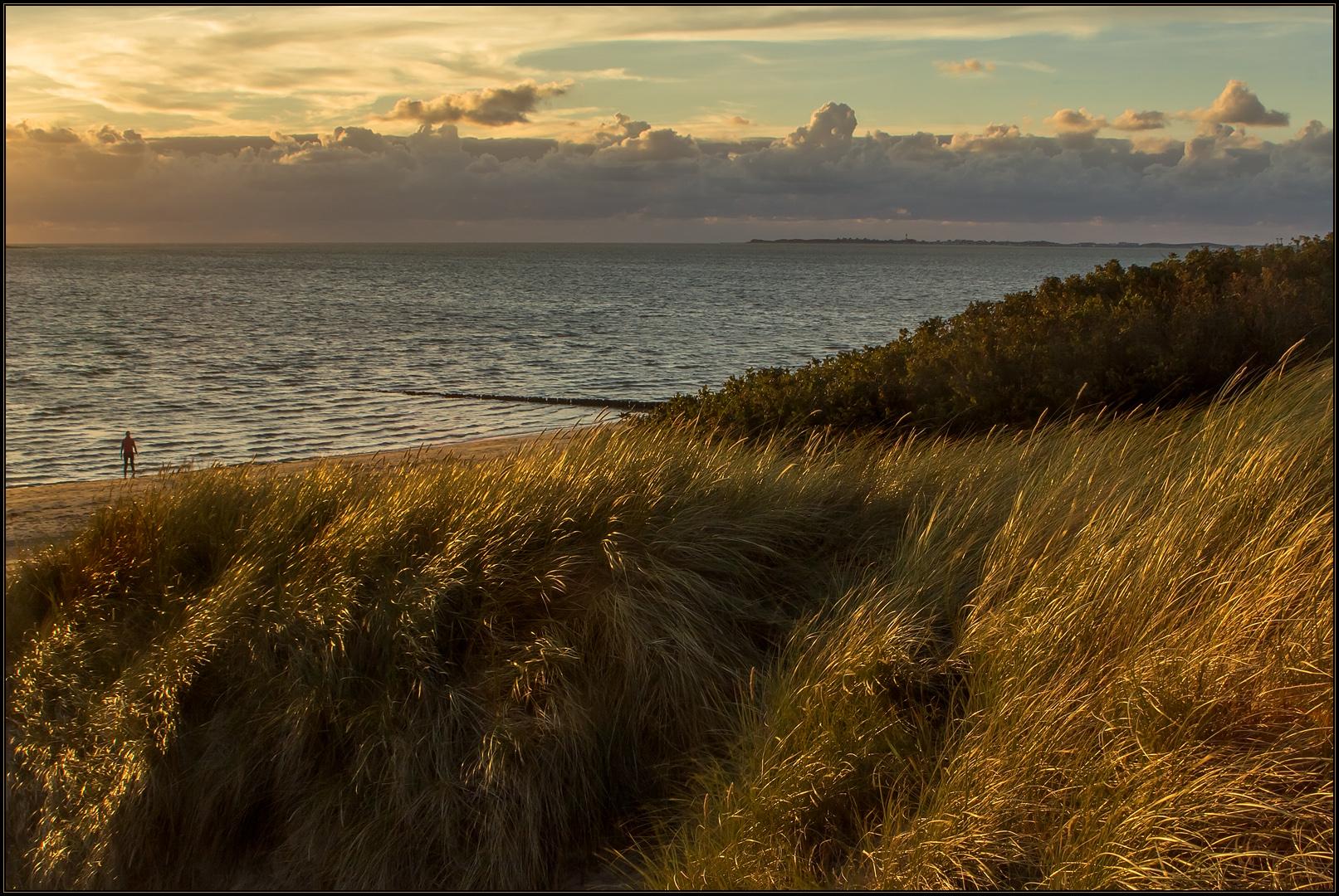 ...allein am Meer...