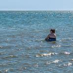 Allein im Meer...