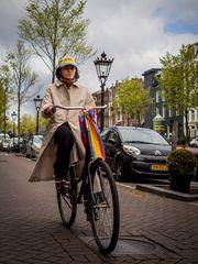 Allein in Amsterdam...