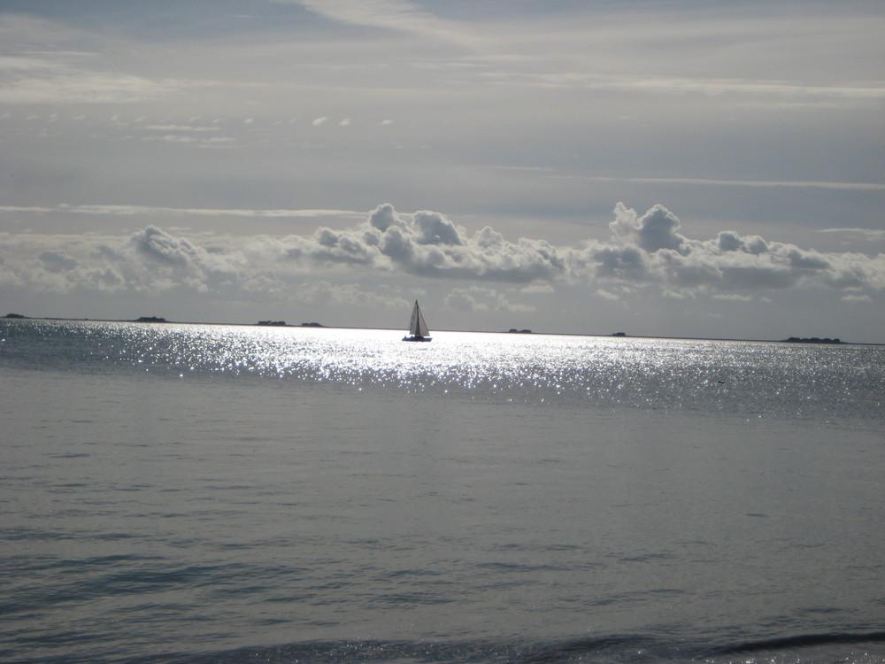 Alleine auf der Nordsee