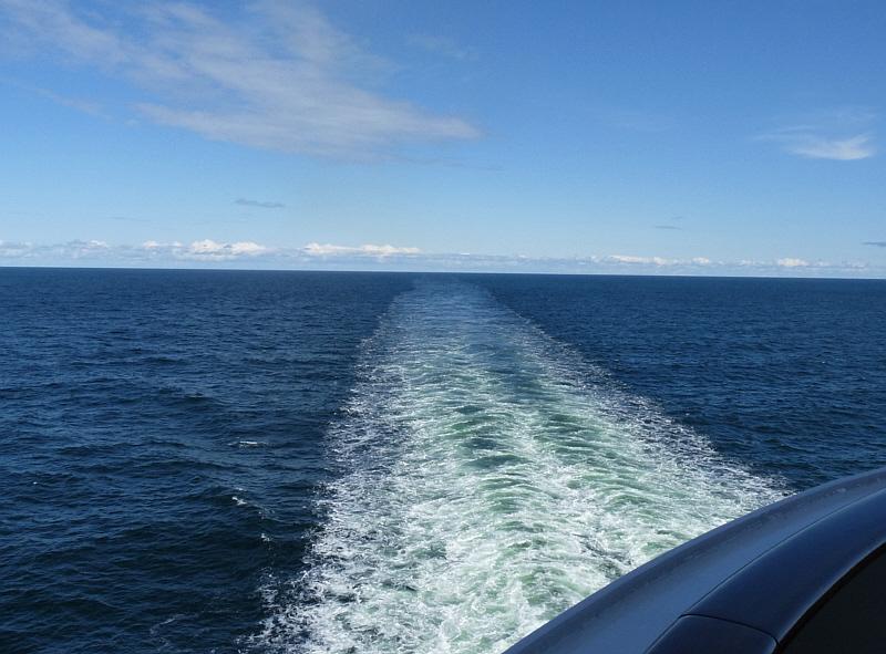 Alleine auf der Ostsee