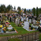 Allerheiligen auf dem Gratweiner Friedhof!
