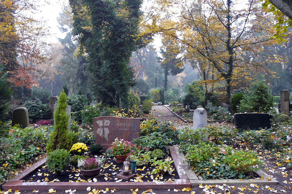 Allerheililgen auf dem Hauptfriedhof Neuss