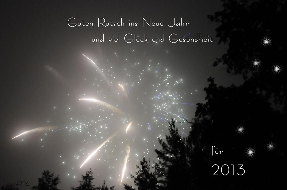 Alles Gute für 2013