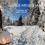 Alles Gute für das neue Jahr 2015