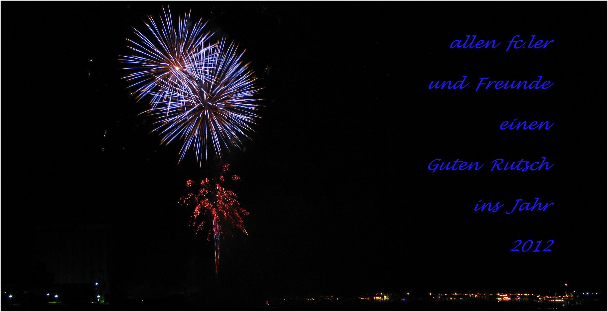 Alles Gute für....................2012