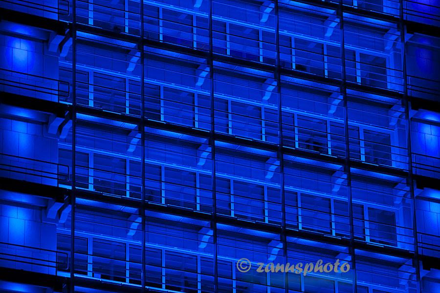 Alles in blau