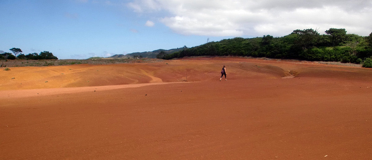 Alles ist anders auf den Azoren: auch die Wüste