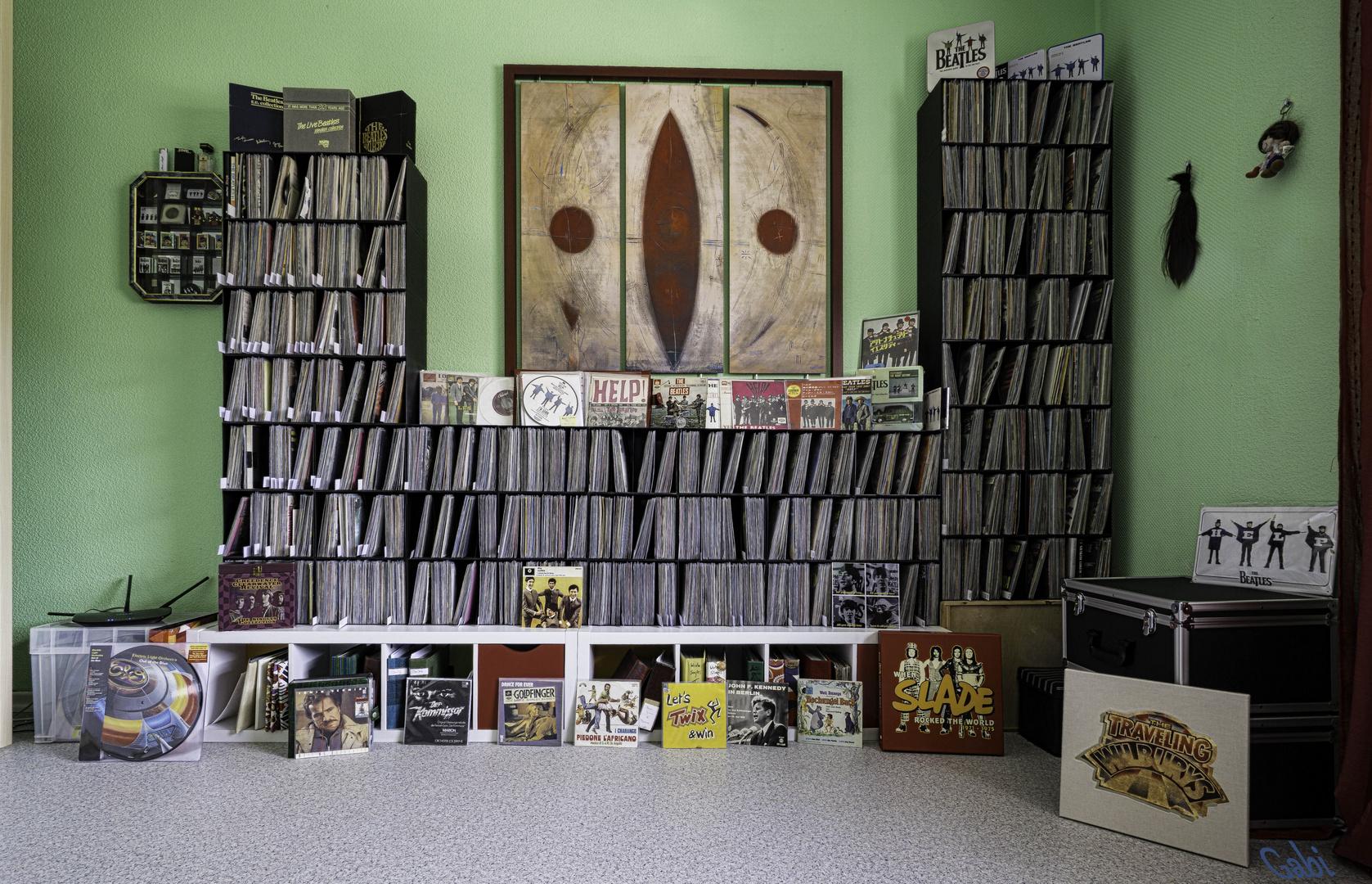Alles MEINS! Vinyl- Singles- Sammlung ...wie dazumal