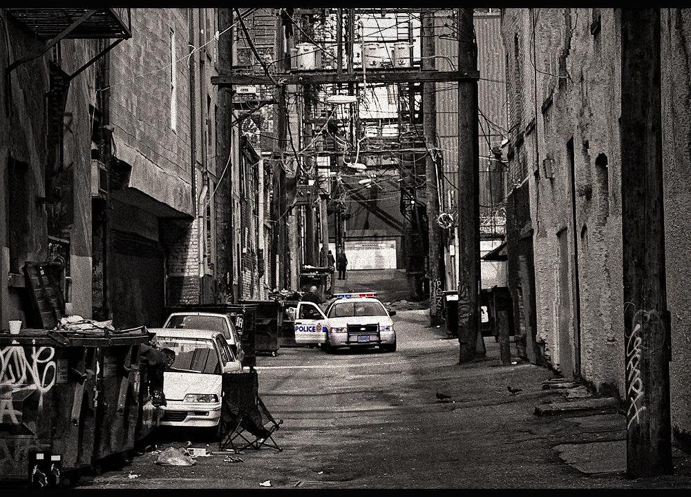 alley on east hastings