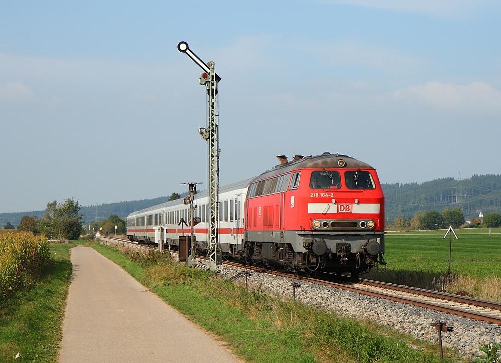 Allgäufernverkehr mit Formsignalen September 2009 (III)
