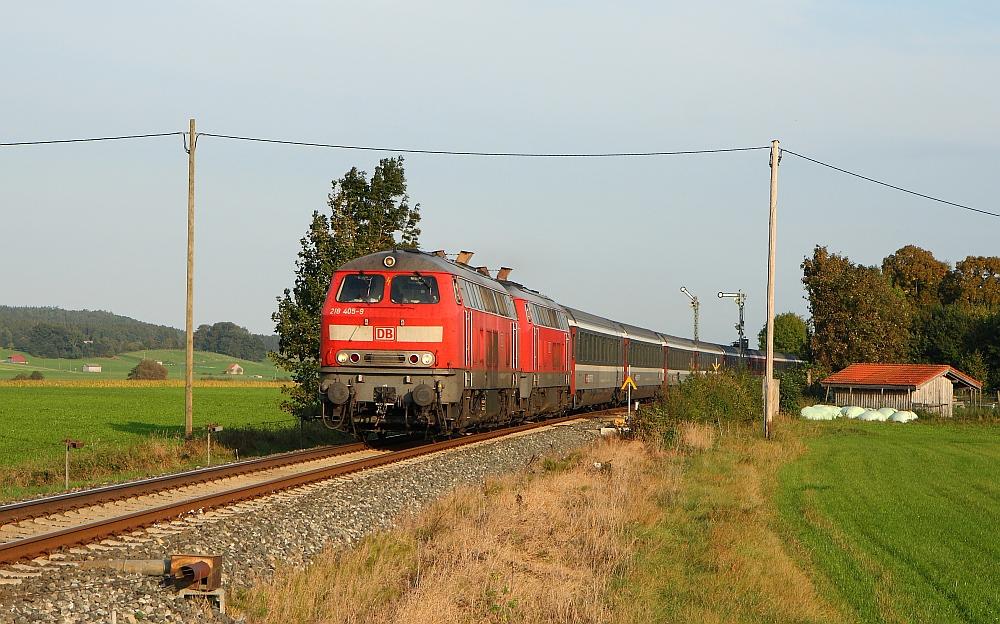 Allgäufernverkehr mit Formsignalen September 2009 (V)
