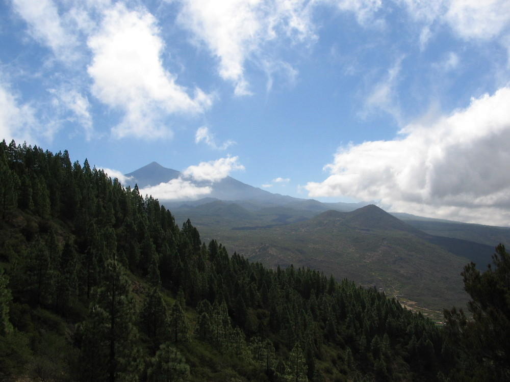 Allgegenwärtig auf Teneriffa - der Teide