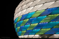 Allianz Areana Munich with Special UEFA Colors