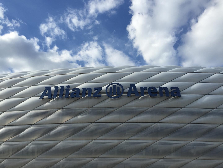 Allianz Arena München - Bundesligabesuch mit Faltin Travel