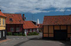 Allinge an der Nordküste Bornholms