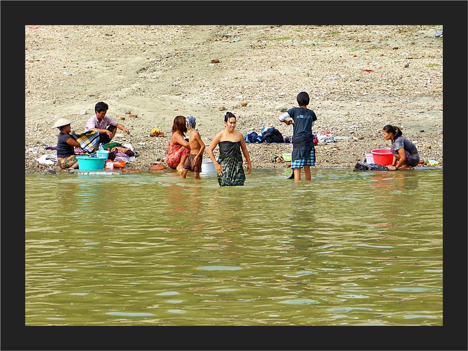 Alltag am Fluss