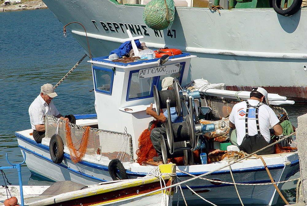 Alltag der Fischer