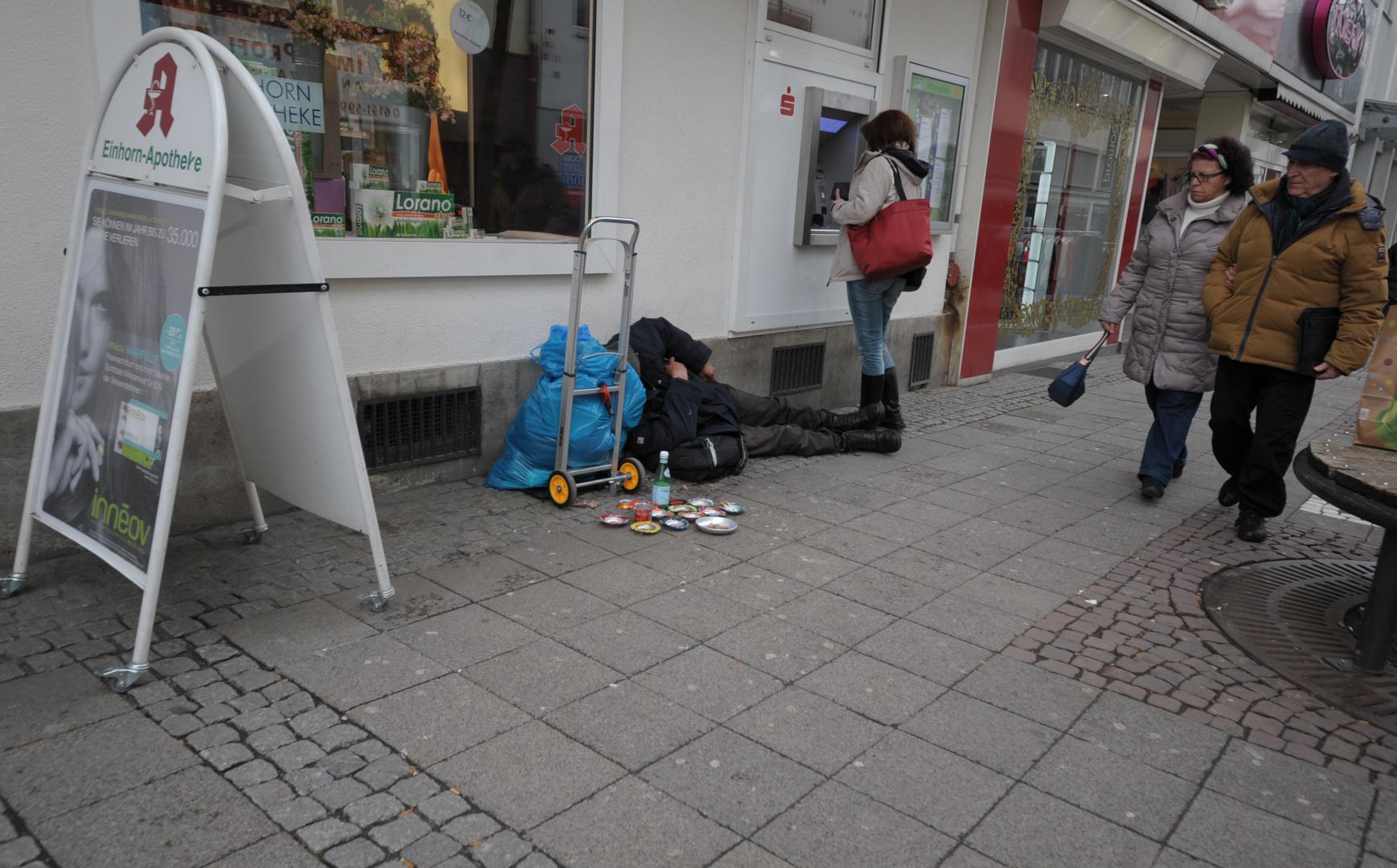 Alltag in Deutschland !! ?? Oder ist das nur eine Momentaufnahme ??