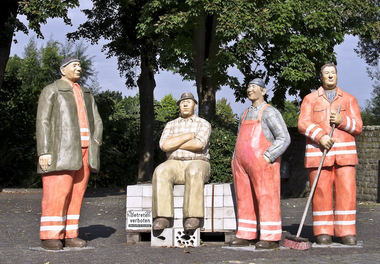 Alltagsmenschen in Wiedenbrück