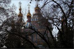 Almaty - Cathédrale Zenkov