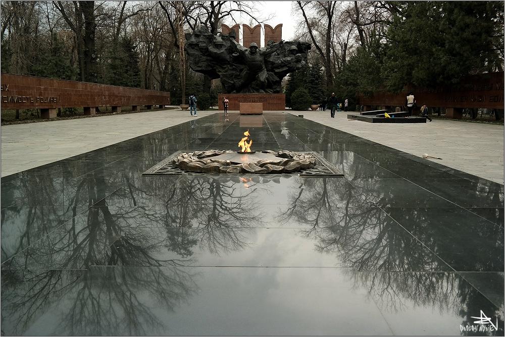 Almaty - Mémorial aux combattants