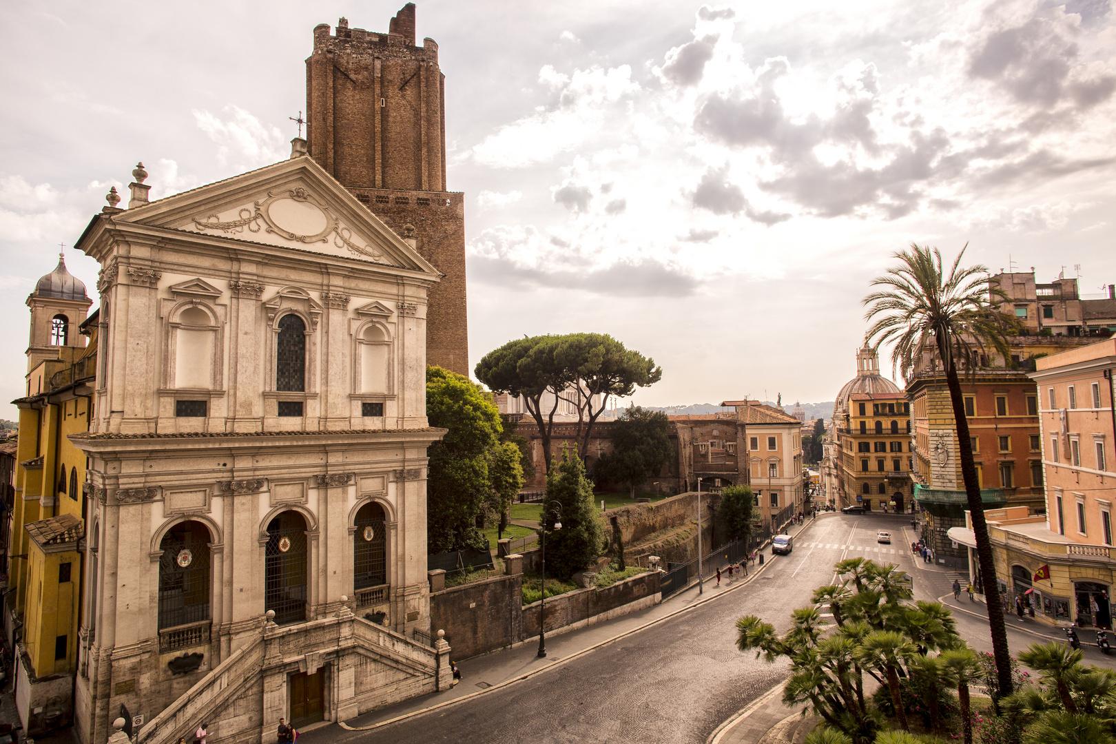 Almeno tre epoche storiche a Roma, in un colpo d'occhio