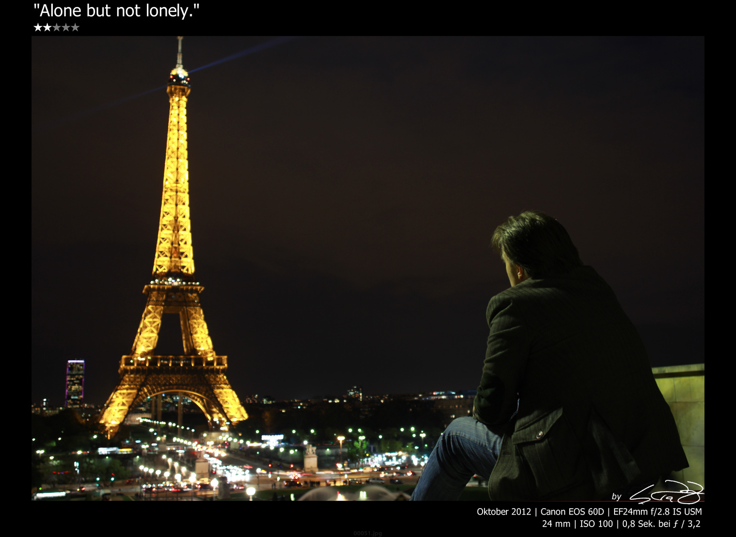 Alone but not lonely!