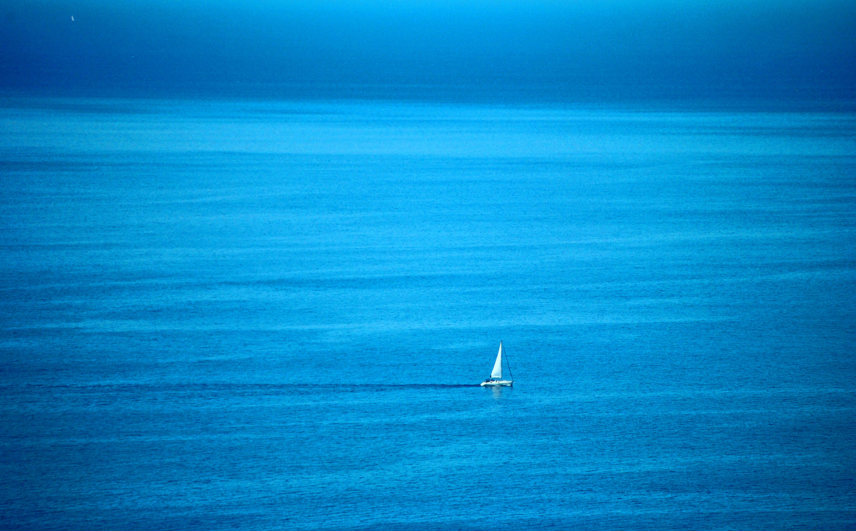 Alone in the Blue