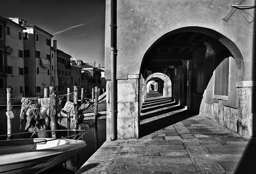 Along the canal in Chioggia