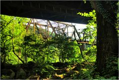 Along the Potomac No.2 - The Railroad Bridges at Harpers Ferry
