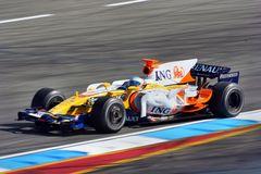 Alonso Hockenheim-Tests 2008