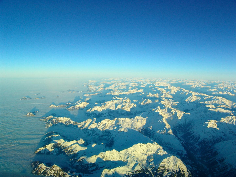 Alpen...