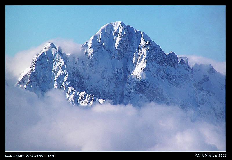 Alpen Gehren-Spitze