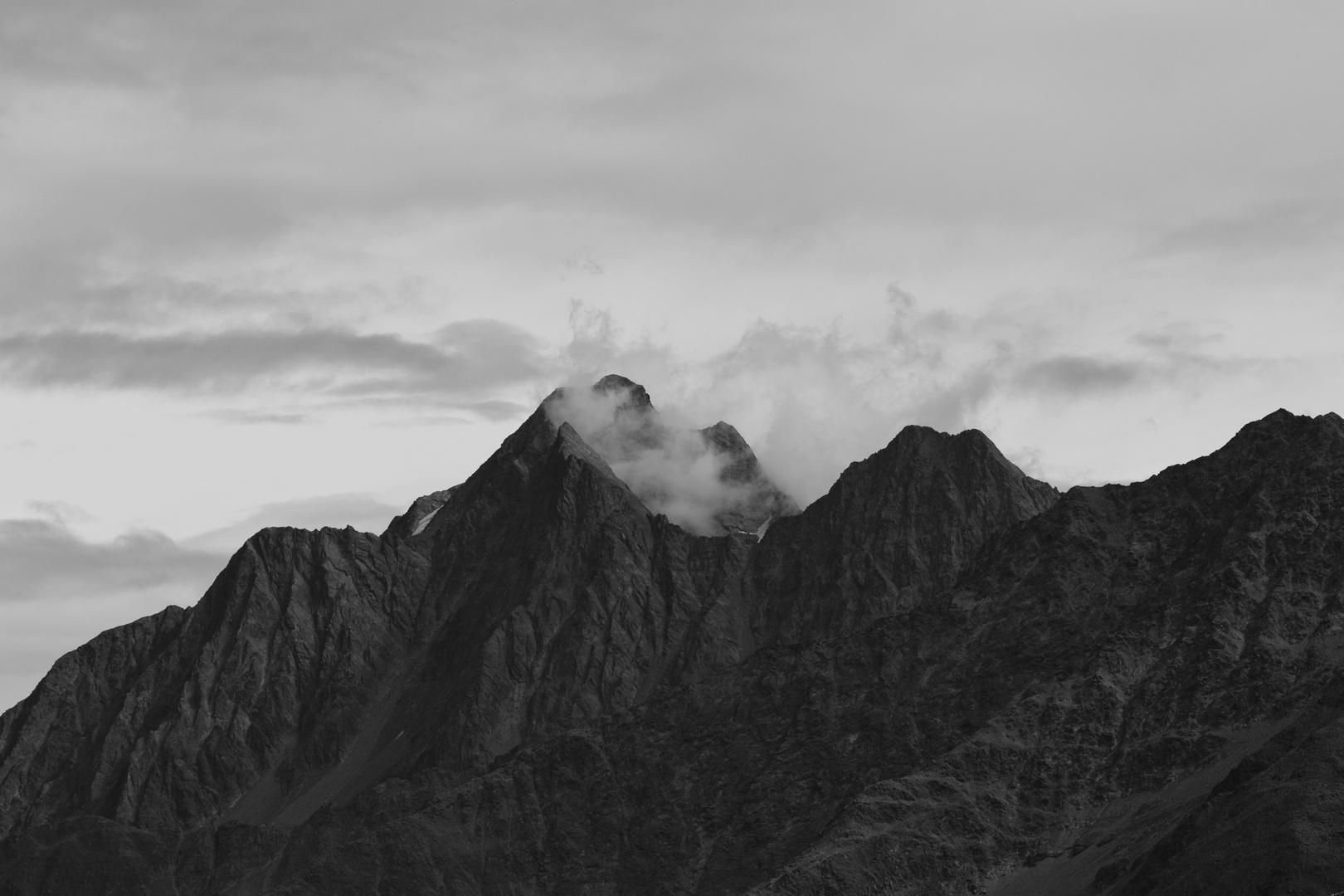 Alpen im Stubaital